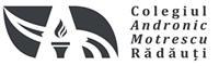 Colegiul Andronic Motrescu Logo